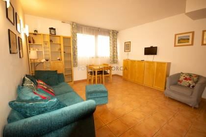 Flat with one bedroom in Es Mercadal with parking and pool