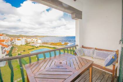 Lovely apartment with sea views in Playas de Fornells