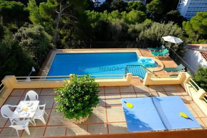 Detached villa with great sea views in Cala Galdana