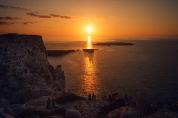 Sunset at Cavalleria, Menorca