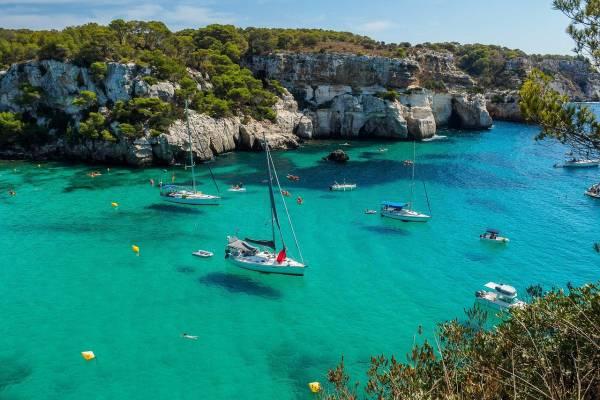 South Coast of Menorca