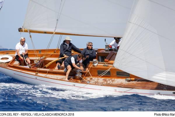 Menorca: Copa del Panerai for classic old-style boats.