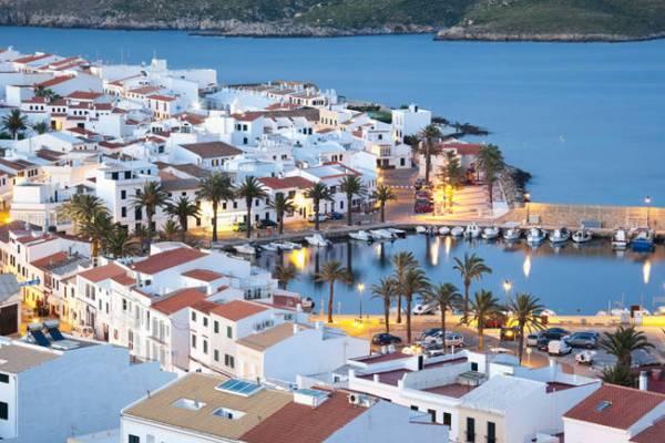 De compras por Menorca