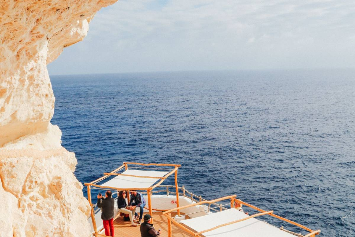 An incredible club hidden in the caves of Menorca